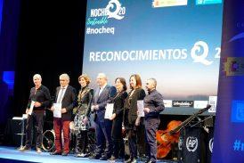 """El Instituto de Calidad Turística de España entregó los Premios """"Q"""" en Madrid."""
