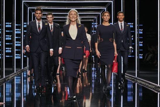 Iberia: uniformes diseñados por Teresa Helbig