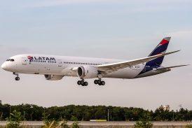 Nuevo vuelo humanitario LATAM Airlines Argentina proveniente de EEUU