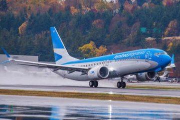 Más vuelos especiales  de Aerolíneas  Argentinas